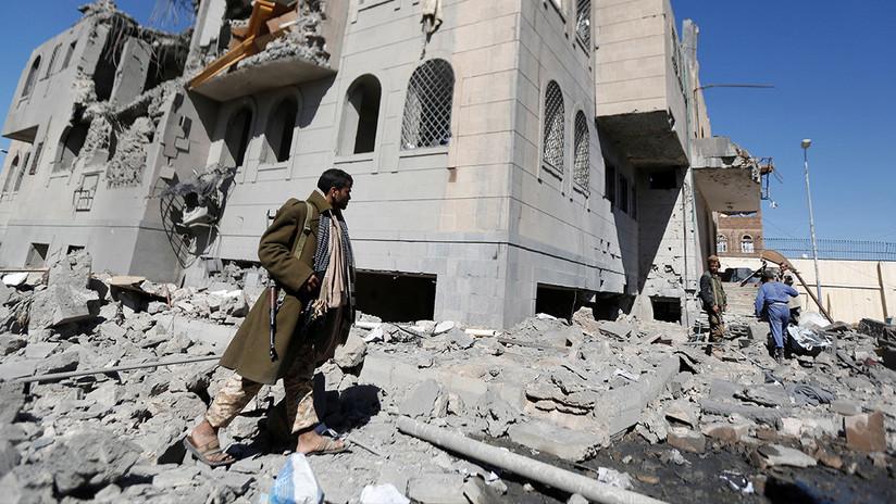 ONU: 109 civiles mueren en 10 días en ataques aéreos de Arabia Saudita contra Yemen
