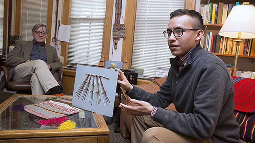 Un estudiante de Harvard ayuda a 'hackear' el misterioso código secreto de los incas