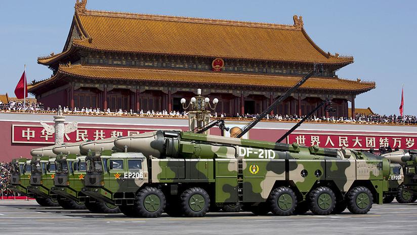 China se adelanta a Rusia y EE.UU. en prueba de misil balístico con un planeador hipersónico