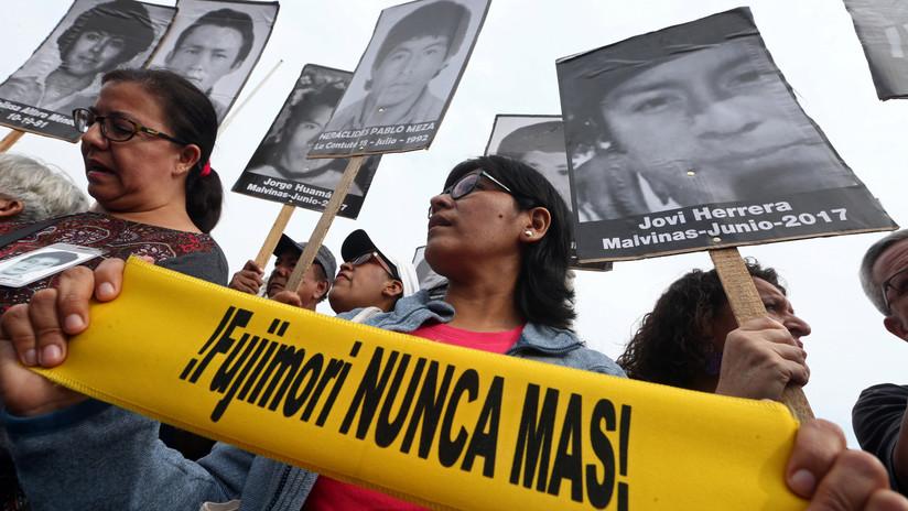 """ONU: el indulto a Fujimori es """"una bofetada en la cara"""" para las víctimas"""