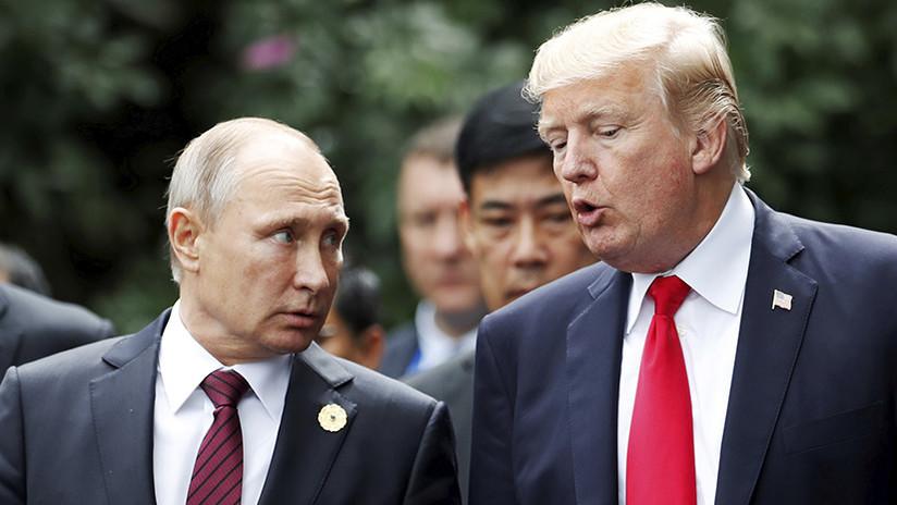 """Trump: No hubo colusión con Rusia, """"y si hubiera tenido lugar, no es un delito"""""""