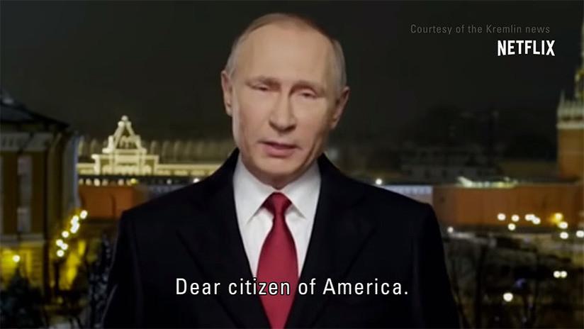 VIDEO: Putin 'se dirige' a EE.UU. en un nuevo anuncio de la cuarta temporada de Black Mirror