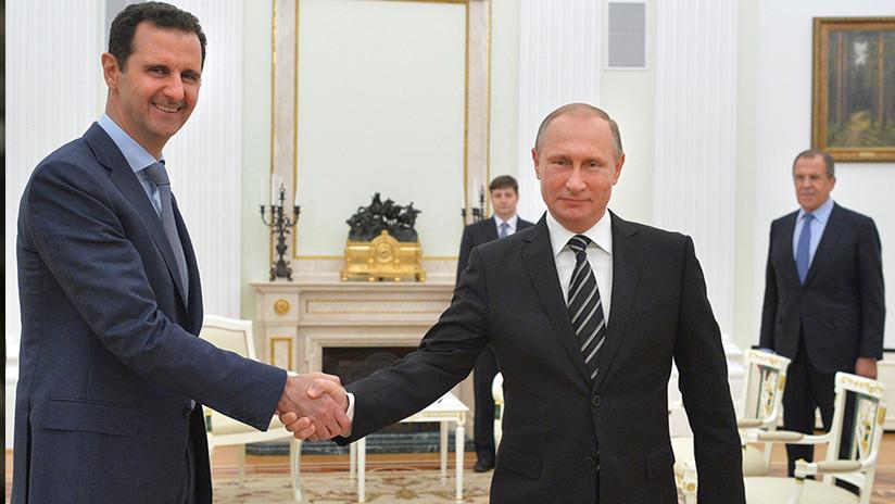 Putin: Rusia no dejará a Siria sin apoyo en defensa a su soberanía e integridad territorial