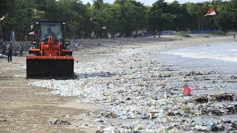 FOTOS: Las turísticas playas de Bali están desapareciendo por culpa de la contaminación