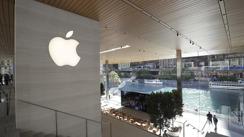 Moderna tienda de Apple perdió ante el invierno