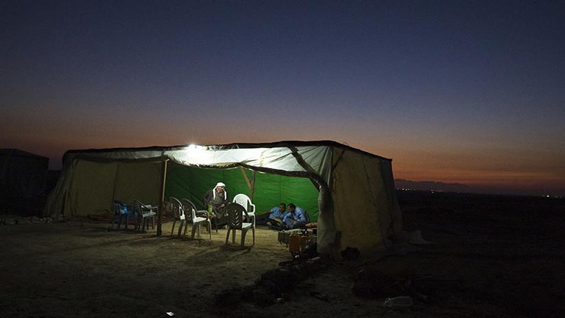 Una tribu de beduinos defiende su aldea, demolida 122 veces ya por Israel