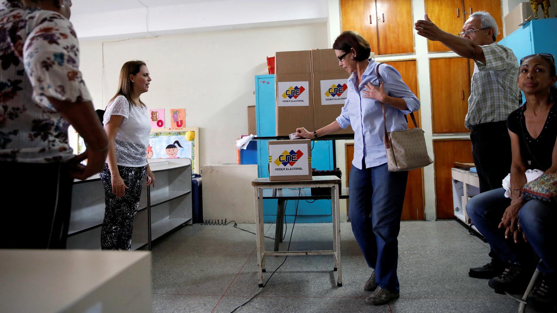 Elecciones municipales: Venezuela hoy va por tercera vez a votaciones este  año - RT