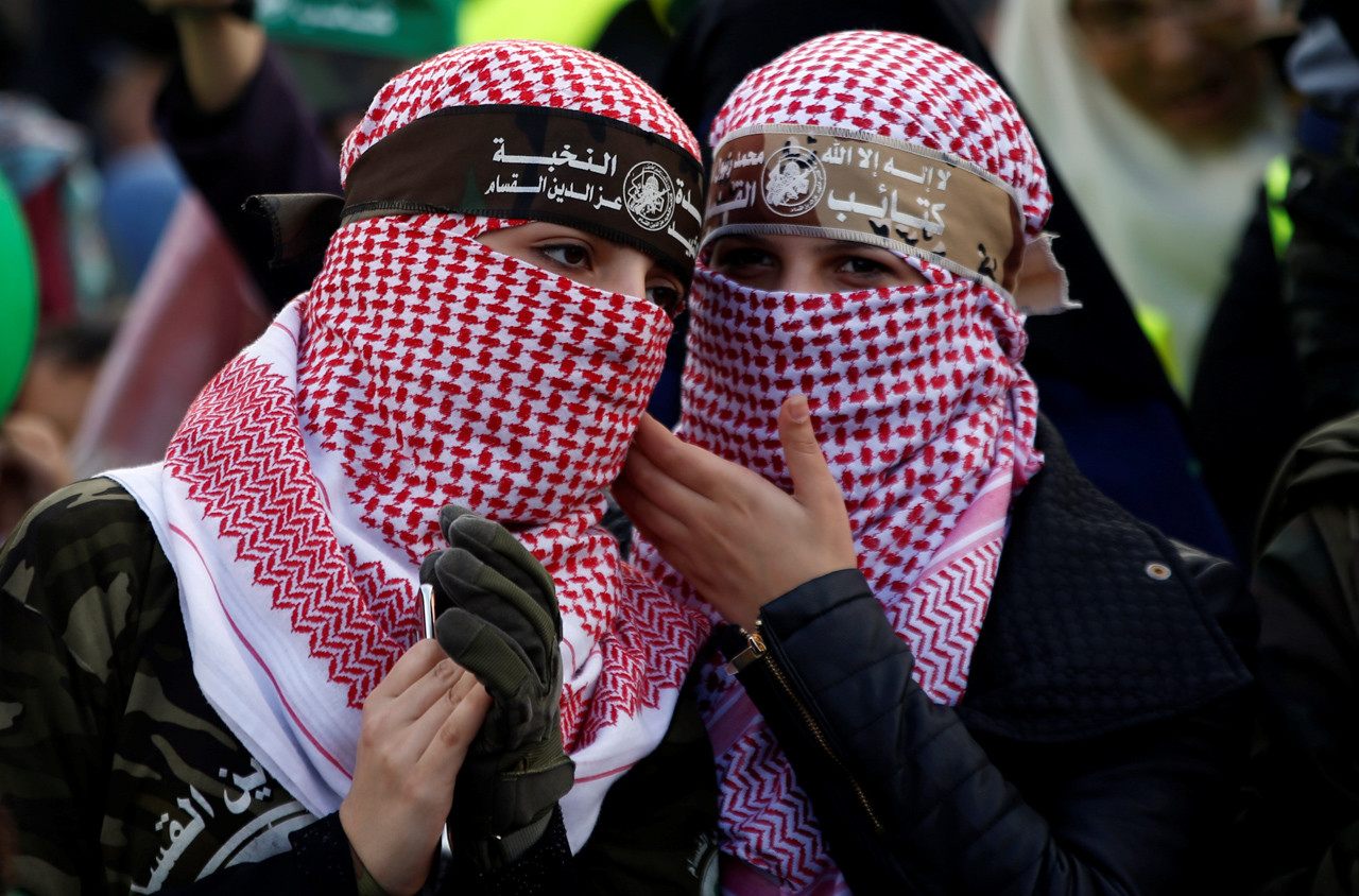 Miles de palestinos protestaron contra EE.UU. en Jerusalén