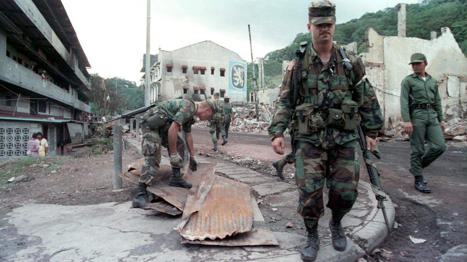 Se conmemoran 28 años de la invasión de EEUU a Panamá