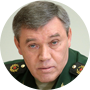Valeri Guerásimov, jefe del Estado Mayor ruso