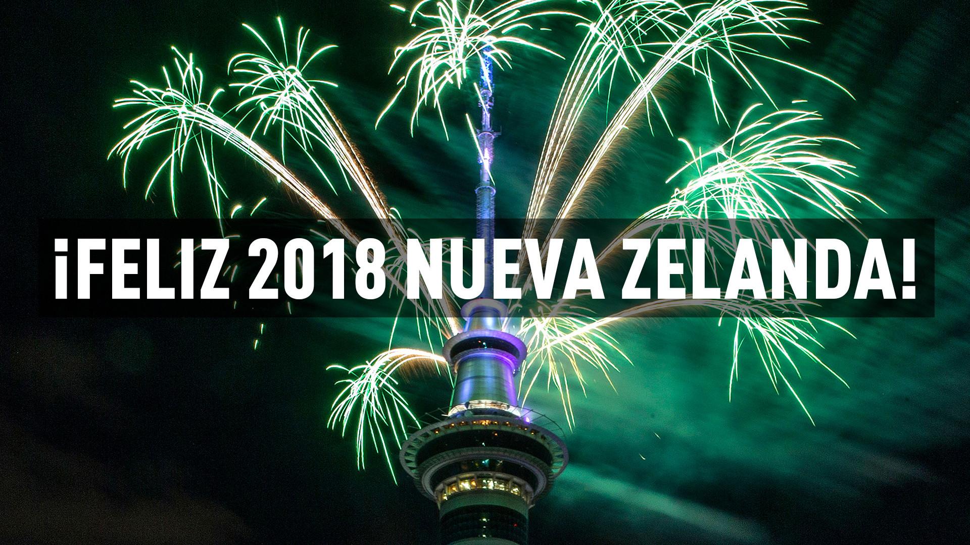 Así el mundo despide 2017 y da la bienvenida al año nuevo (VIDEOS)