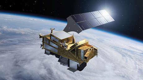 El satélite Sentinel-5 de la ESA, el 24 de febrero de 2017.
