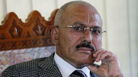 El expresidente de Yemen, Ali Abdullah Saleh.