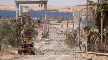 La presa de Tabqa en el río Éufrates, en la ciudad siria de Tabqa, tras ser arrebatada al Estado Islámico.