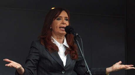 Cristina Fernández de Kirchner, expresidenta de Argentina.