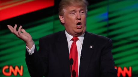 Donald Trump y la CNN