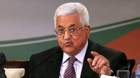 El presidente de Palestina, Mahmud Abbás, en Ramala, el 30 de noviembre de 2016.