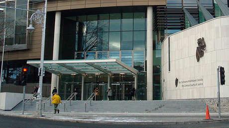 El Tribunal Supremo de Justicia de Irlanda, Dublín.