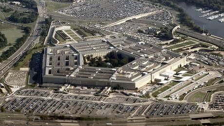 Vista aérea del Pentágono, Washington, el 31 de agosto del 2010.