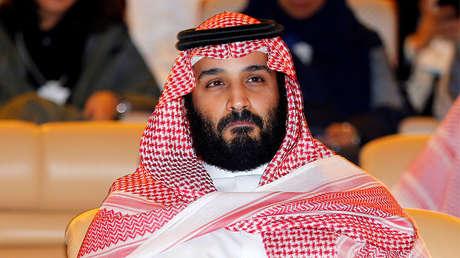 El príncipe heredero de Arabia Saudita, Mohamed ben Salmán, en Riad, el 24 de octubre de 2017.