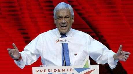 Sebastián Piñera en Santiago de Chile, el 14 de diciembre de 2017.