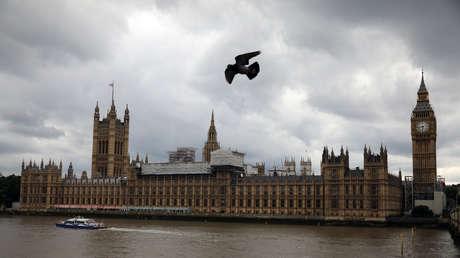 Edificio del Parlamento británico, Londres, Reino Unido.