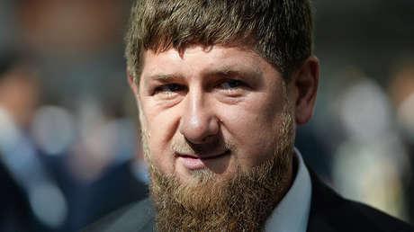 El presidente de la república rusa de Chechenia, Ramzán Kadýrov.