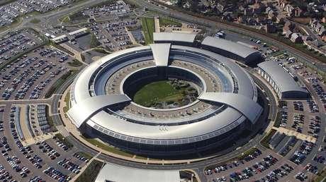 La sede de GCHQ en la ciudad de Cheltenham.