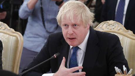Boris Johnson, ministro de Exteriores de Reino Unido.