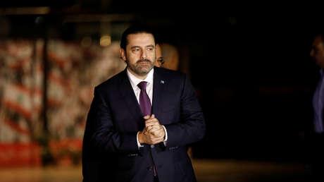 El primer ministro del Líbano, Saad Hariri.