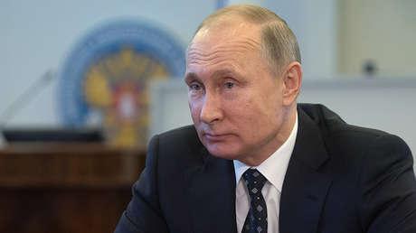 Vladímir Putin se registra como candidato presidencial a las elecciones de 2018, el 27 de diciembre del 2017.