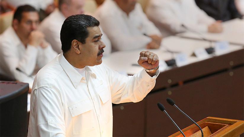 VIDEO: Nicolás Maduro anuncia un aumento del 40% en el salario mínimo nacional para 2018