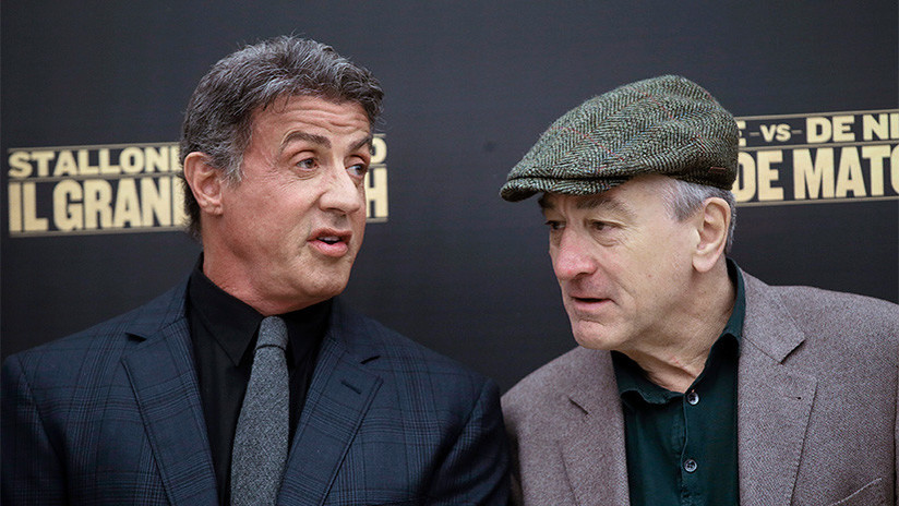 La mujer que acusa a Sylvester Stallone de violación planeaba denunciar también a Robert De Niro