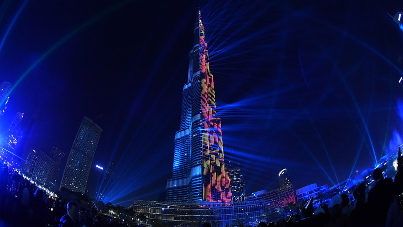 VIDEO: Dubái despide el 2017 con un récord Guinness por el espectáculo láser más grande del mundo