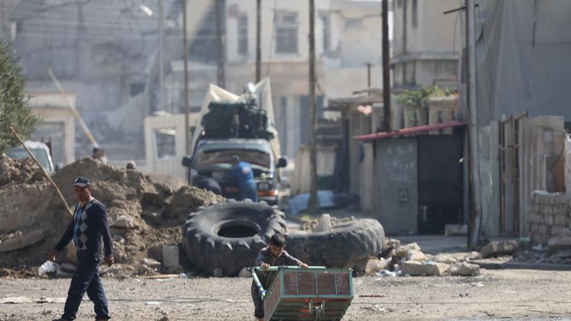 Medios: Capturado en Irak el verdugo de la barba blanca del Estado Islámico