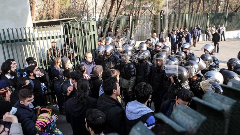 """El ministro de Inteligencia israelí les desea """"éxito"""" a los protestantes antigubernamentales en Irán"""