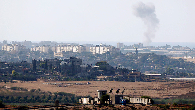 Israel bombardea la Franja de Gaza en respuesta al ataque de este lunes