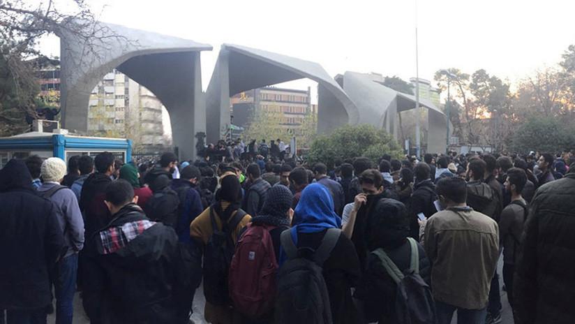 """""""Los manifestantes iraníes no necesitan el apoyo de EE.UU."""""""
