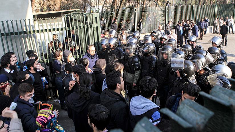 El Consejo de Seguridad de Irán culpa de los disturbios en el país a Washington, Londres y Riad