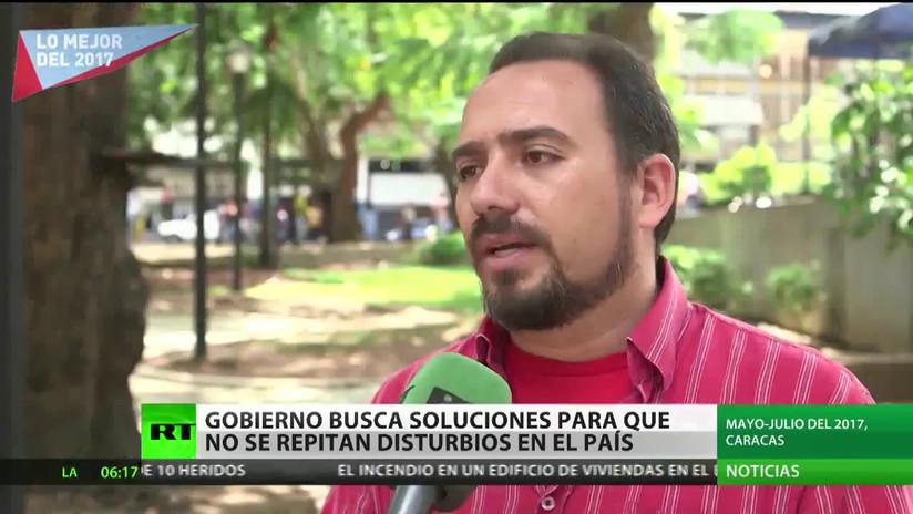 Familiares de víctimas de los disturbios en Venezuela comparten su tragedia con RT