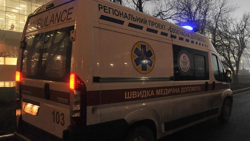 El peor Año Nuevo: Un suicida aplasta a un niño ante la mirada de sus padres en Ucrania (FOTOS)