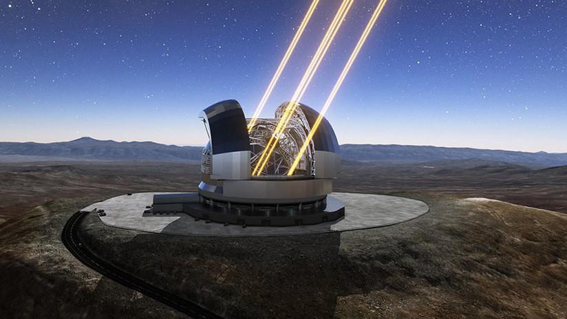"""""""El mayor ojo en el cielo"""": publican una foto del telescopio más grande del mundo en Chile"""