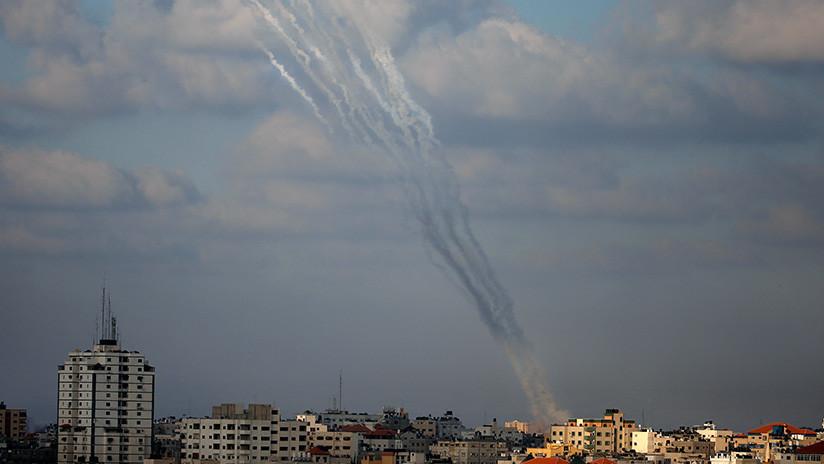 Israel bombardea la Franja de Gaza en respuesta al ataque de este miércoles