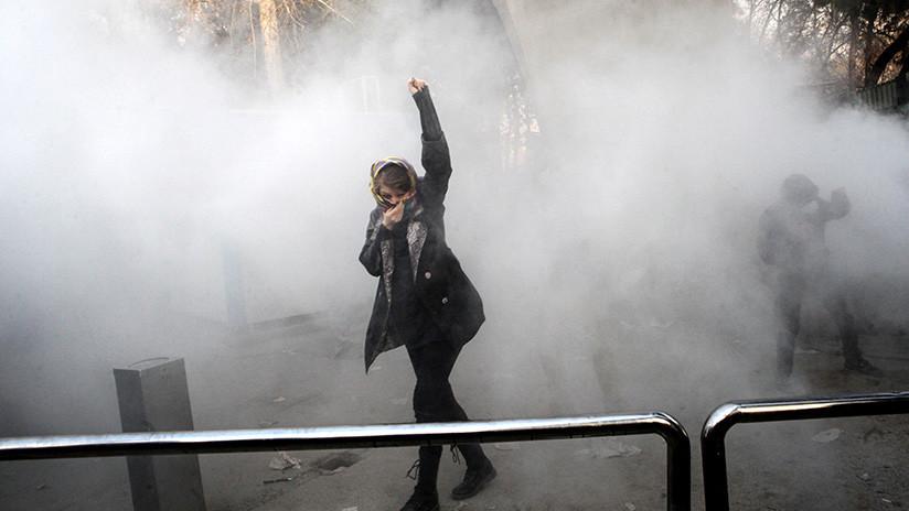 """EE.UU. promete a los iraníes que protestan """"un apoyo que irá más allá de las palabras"""""""