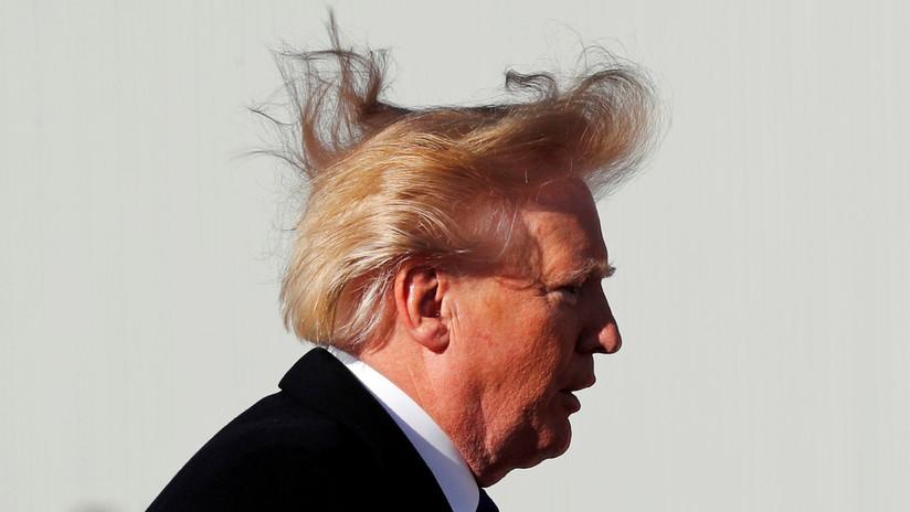 Desvelan el misterio del peculiar peinado del presidente Donald Trump