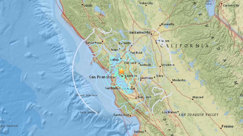 EE.UU.: Un sismo de 4,5 agita el estado de California