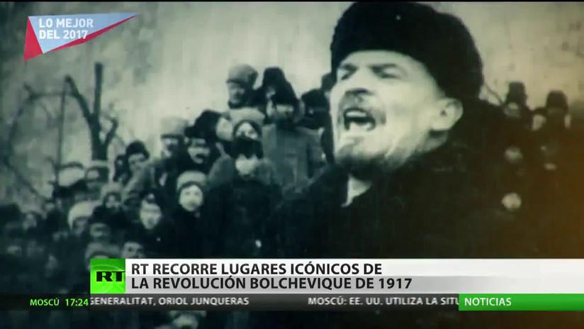 RT repasa los lugares más icónicos del centenario de la Gran Revolución Rusa