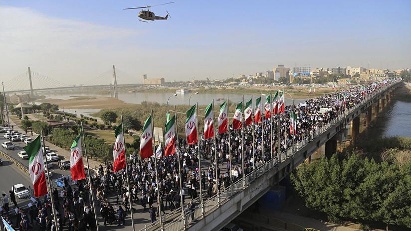 """Washington amenaza con """"enjuiciar"""" a los responsables de la violencia en Irán"""