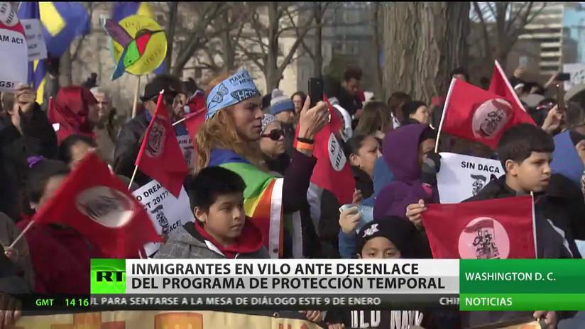 EE.UU.: Inmigrantes en vilo ante el final del programa de protección temporal DACA