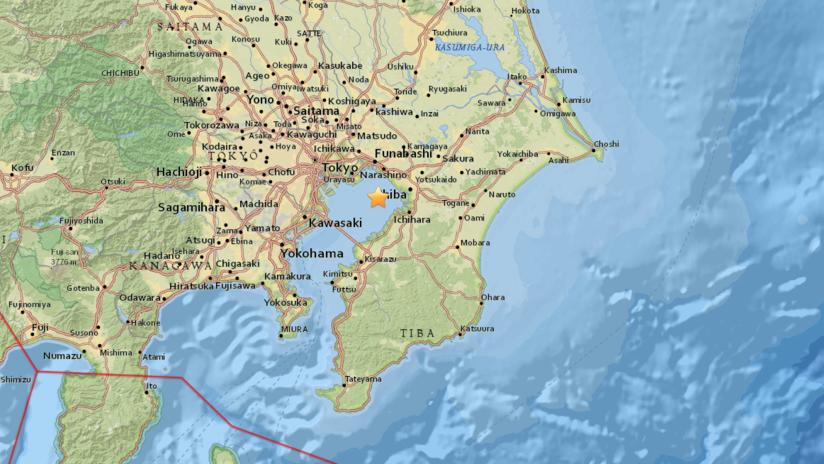 Un sismo de magnitud 4,9 sacude Japón
